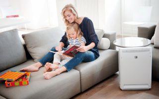 Каким должен быть очиститель воздуха для детской комнаты