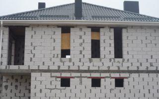 Как сделать вентканалы в доме из газобетона