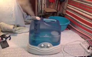 Чистка и дезинфекция увлажнителя воздуха