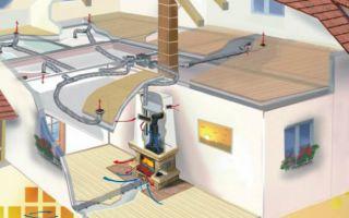 Как устроено воздушное отопление дома