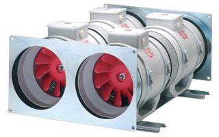 Как правильно установить канальный вентилятор
