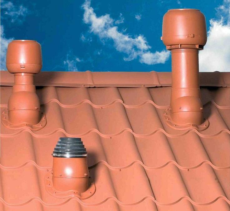 Вывод фанового стояка на крышу