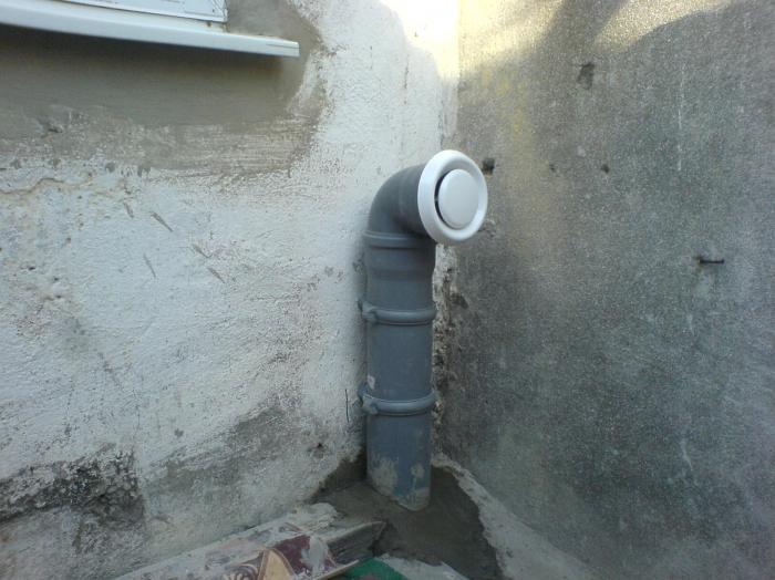 Для подвала в гараже выводится отдельный вентиляционный канал