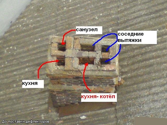 """Устройство вентиляционного канала в старом доме -""""сталинке"""""""