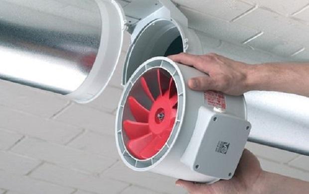 Вытяжное устройство для принудительной вентсистемы