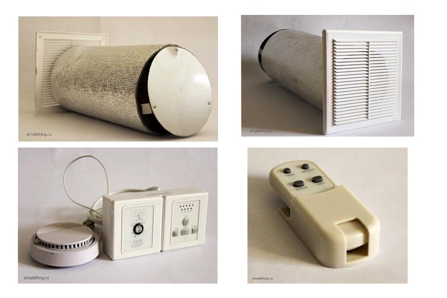 Энергоэкономиное устройство вентканала