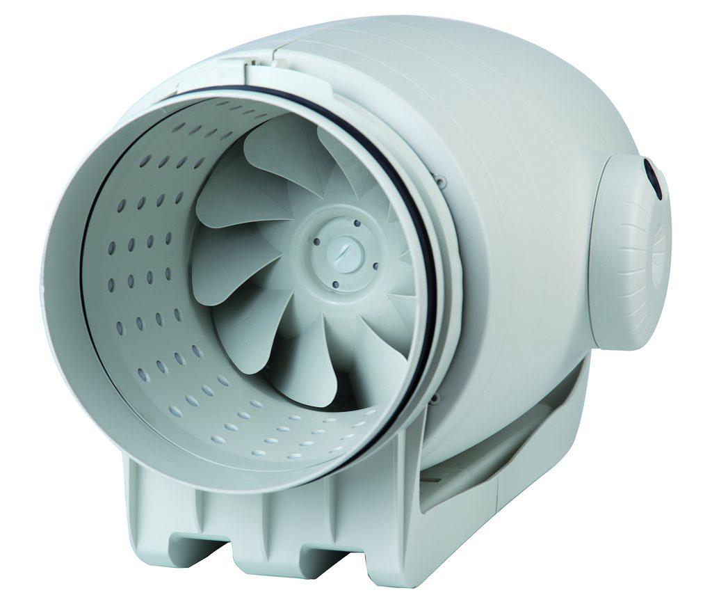 Модель вентилятора для большого вентканала