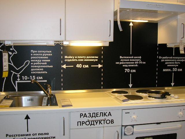 Прежде, чем приступать к монтажу выберите правильное место для оборудования - газовая плита + вытяжка