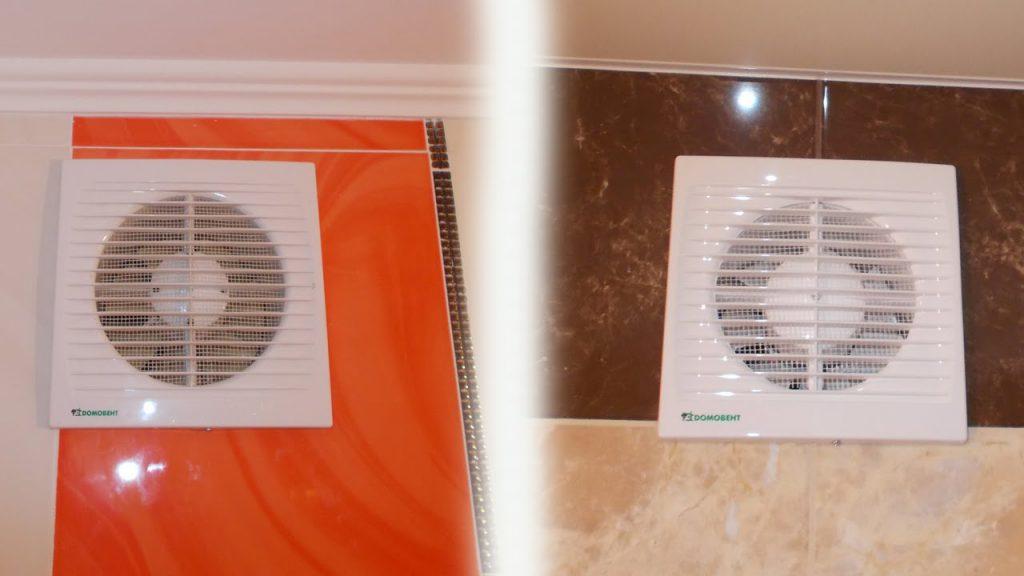 Традиционный для большинства городских квартир вентилятор имеет такой вид