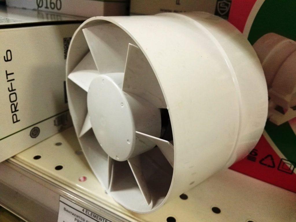 Круглые вентиляторы чаще всего встречаются в быту