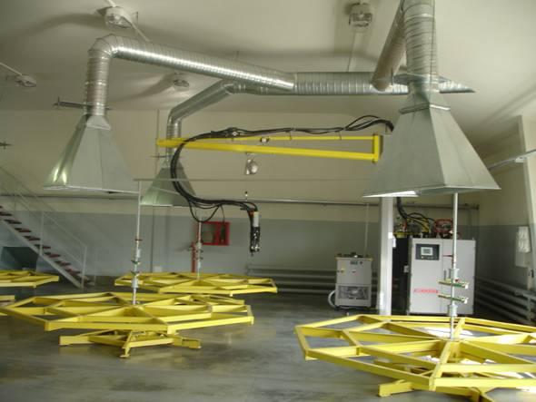 Схема вентиляции с купольной вытяжкой