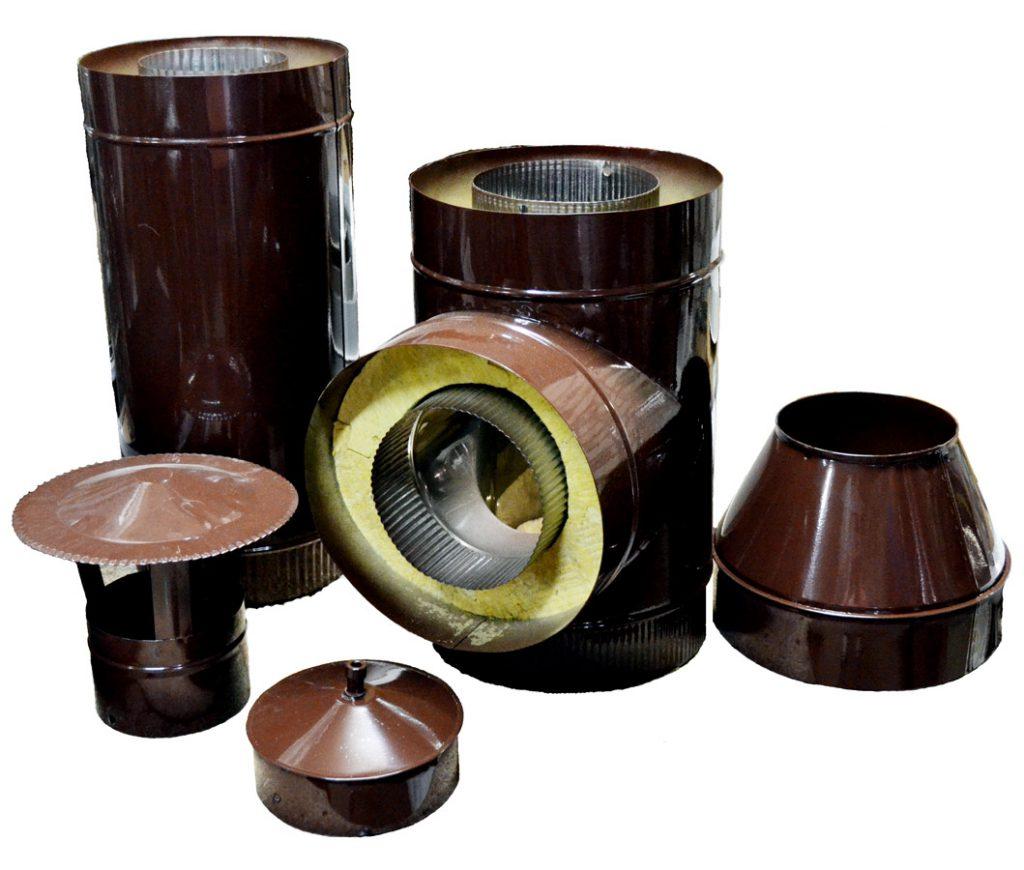 Как вариант можно использовать при монтаже вентиляции конструктивные элементы с заводской изоляцией