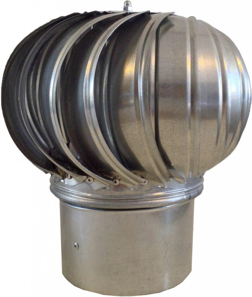 Нижняя часть дефлектора может быть круглой, квадратной, прямоугольной формы