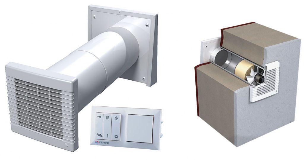 Современный недорогой вентканал с фильтрацией