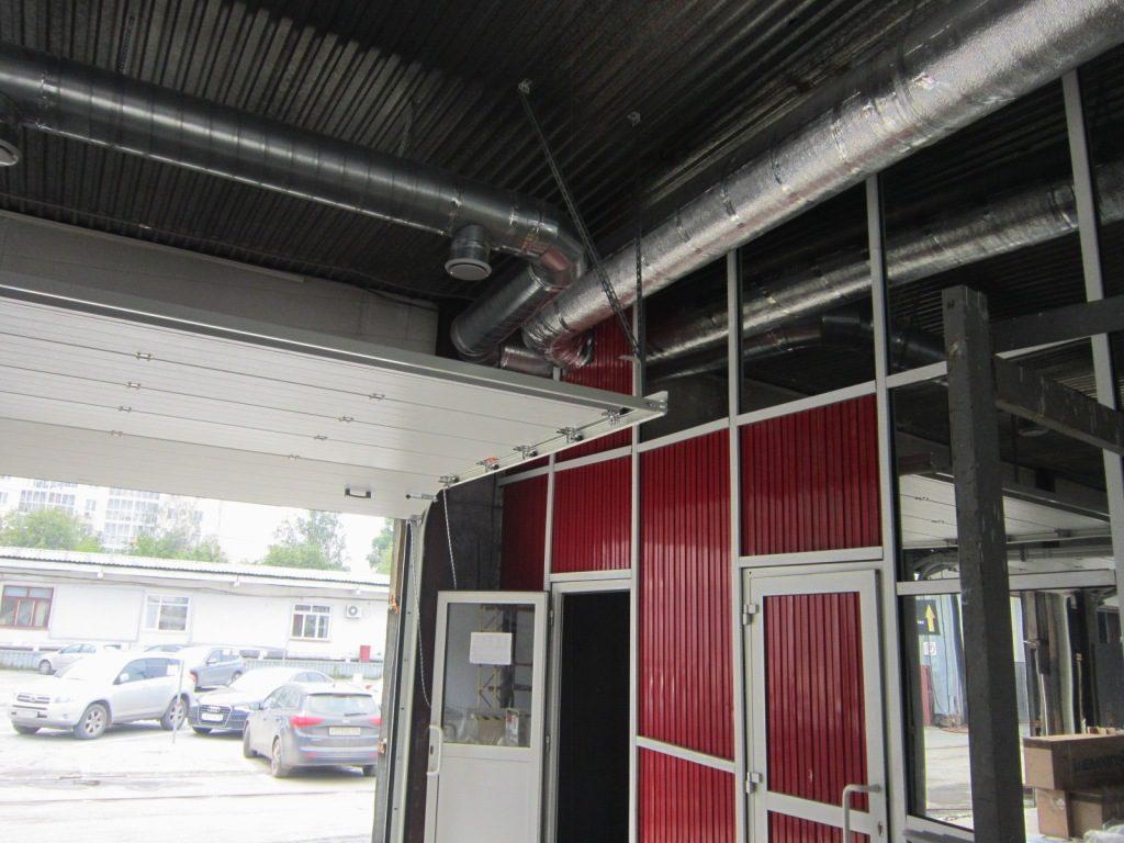 Вентиляционная система должна охватывать и административные помещения автомойки