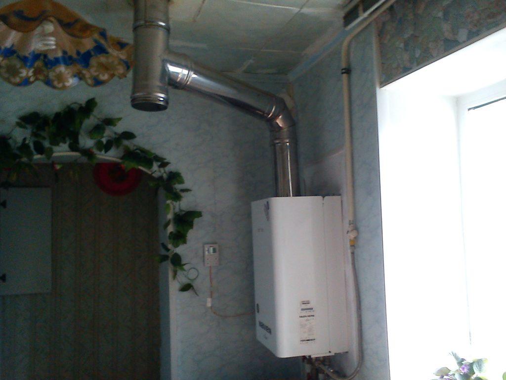 Вентиляция для газового котла в частном доме