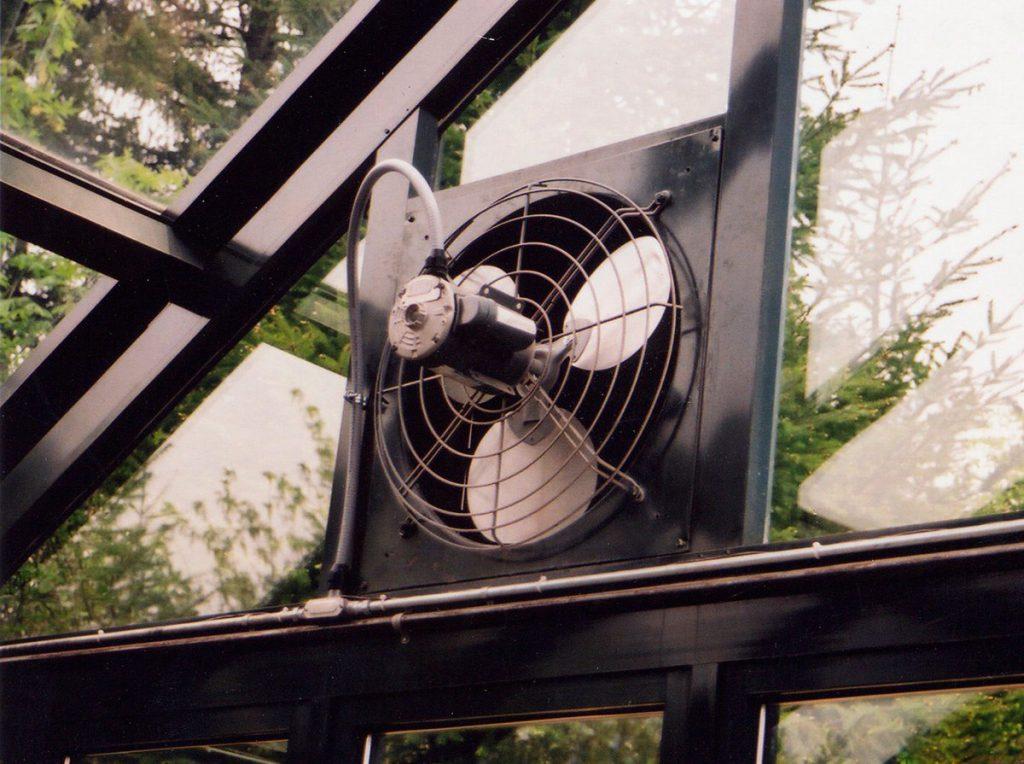Вентилятор должен быть оптимальной мощности