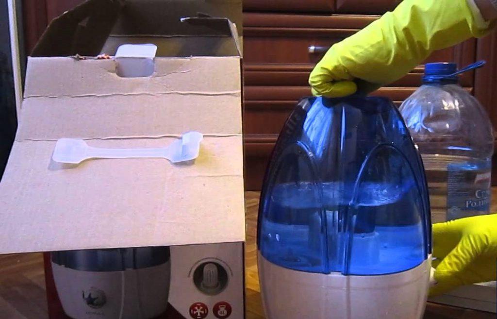 Требования к заливаемой воде прописаны в рекомендациях производителя увлажнителя