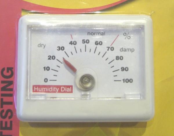 Гигрометр поможет контролировать уровень влажности