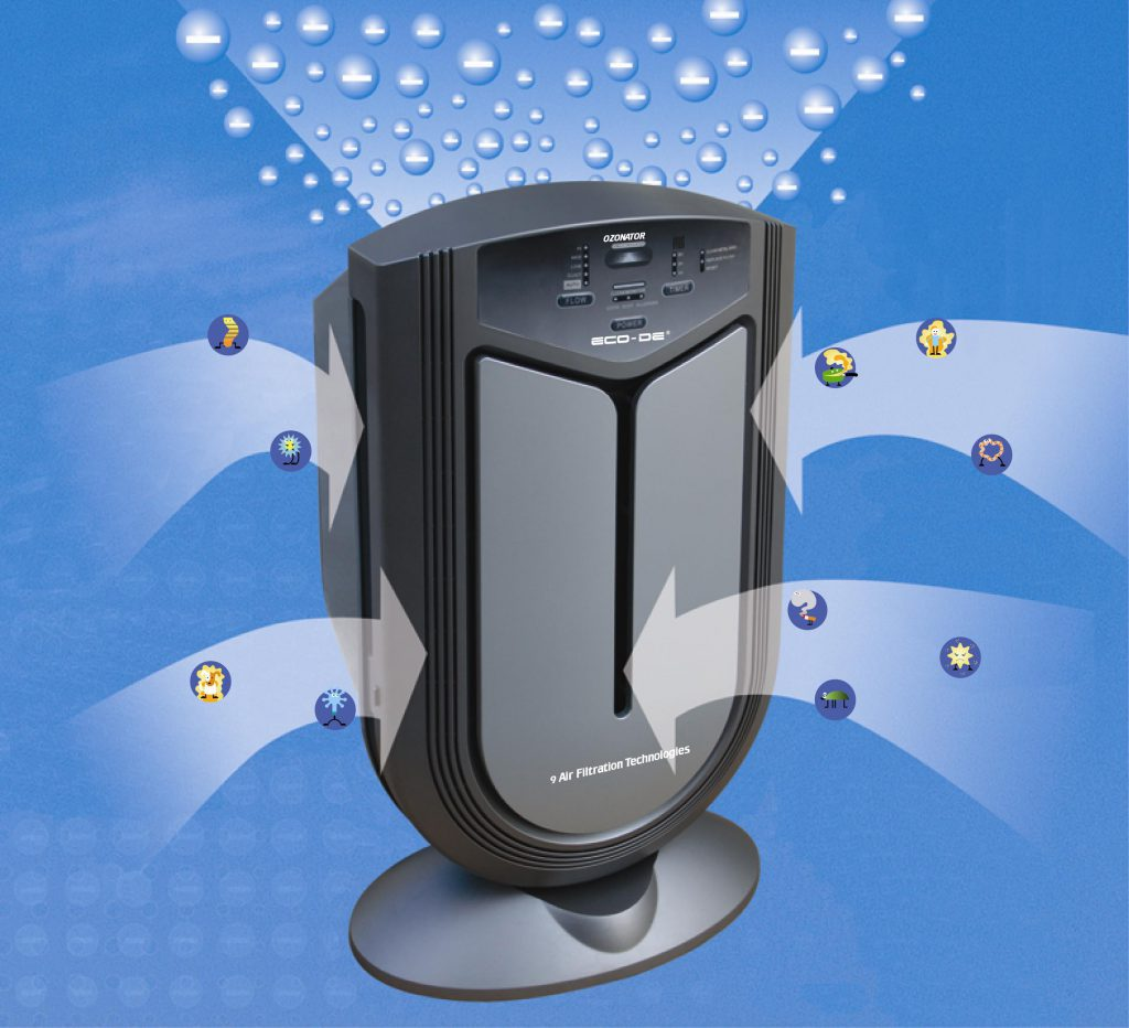 Ионизация воздуха в помещении - один из способов его очистки