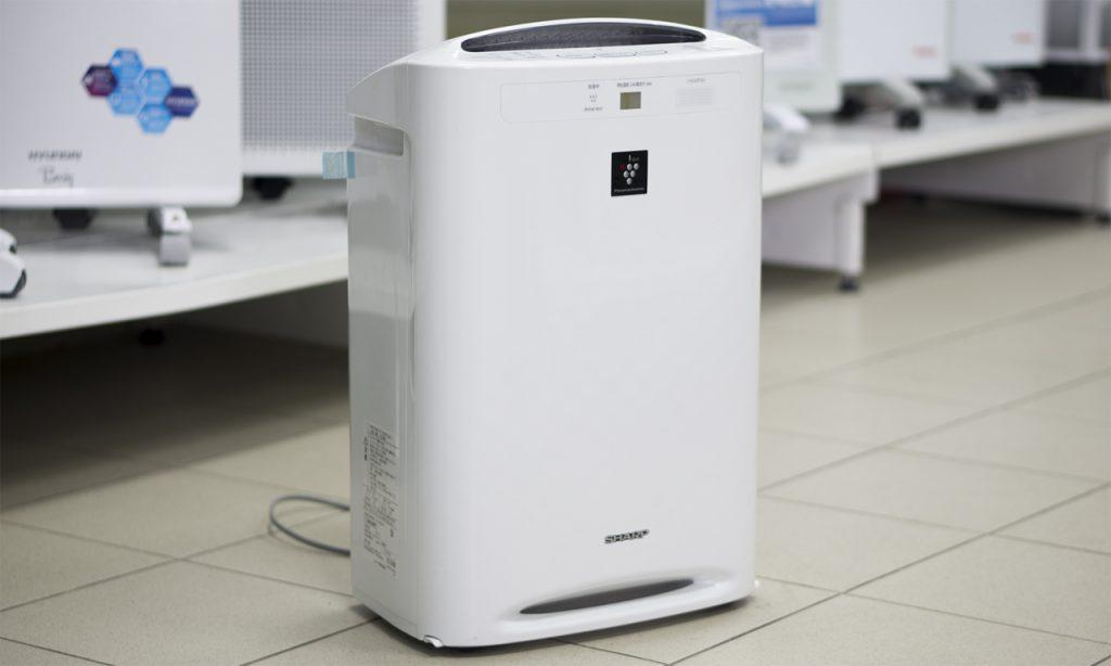 Напольная модель очистителя воздуха в функцией дымоудаления