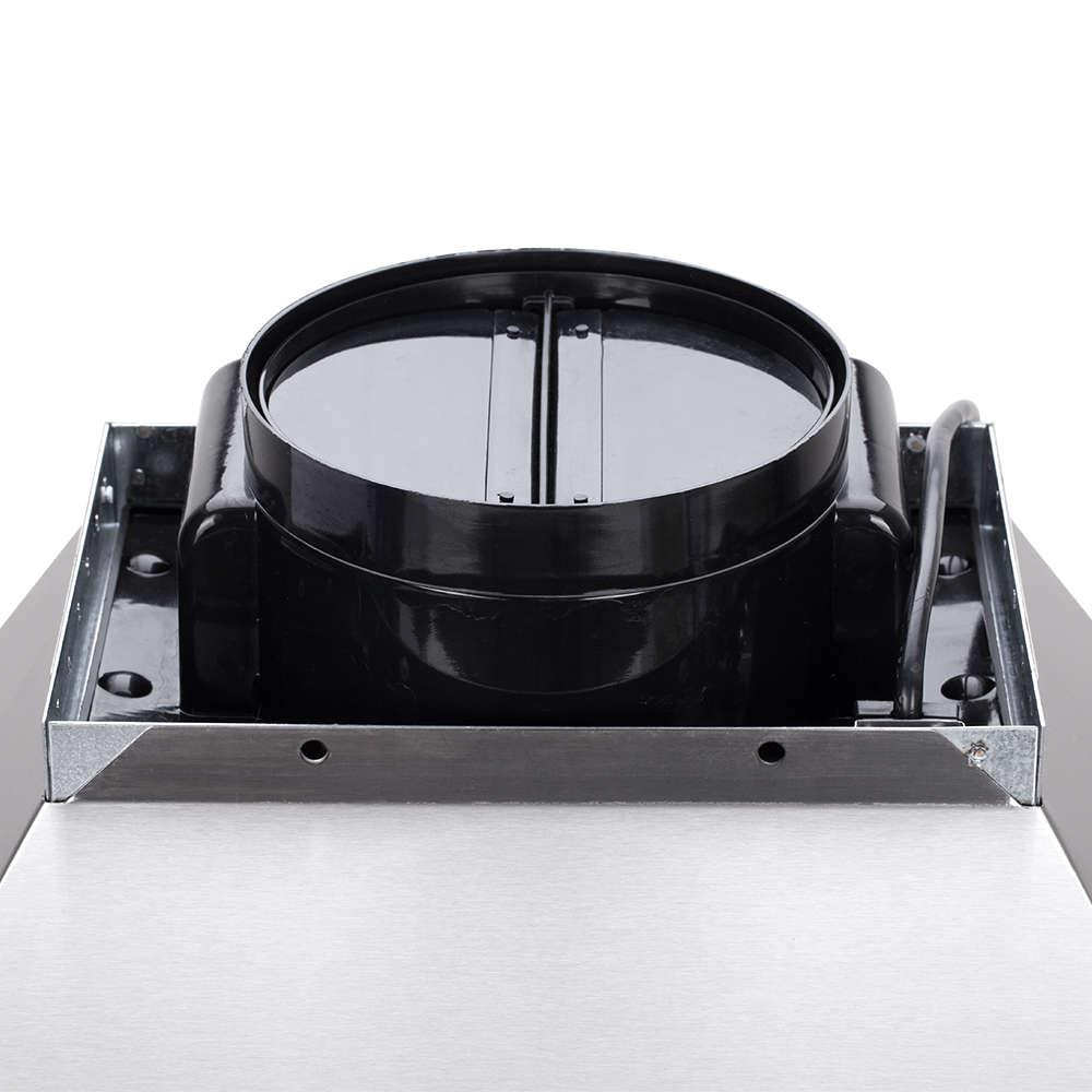 Антивозвратный клапан присутствует в современной вентсистеме кухни