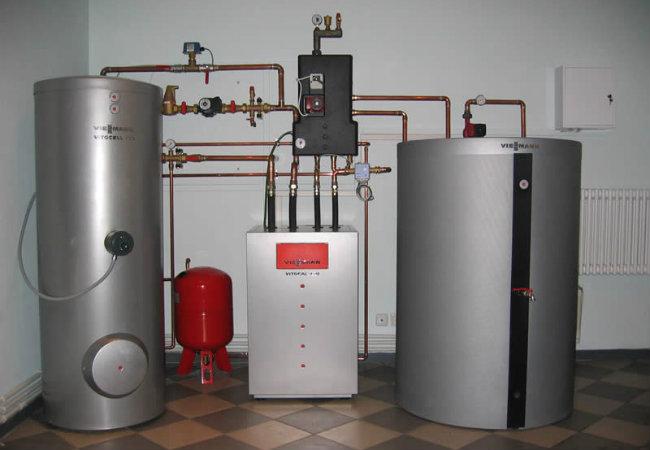 Газовое отопления частного дома