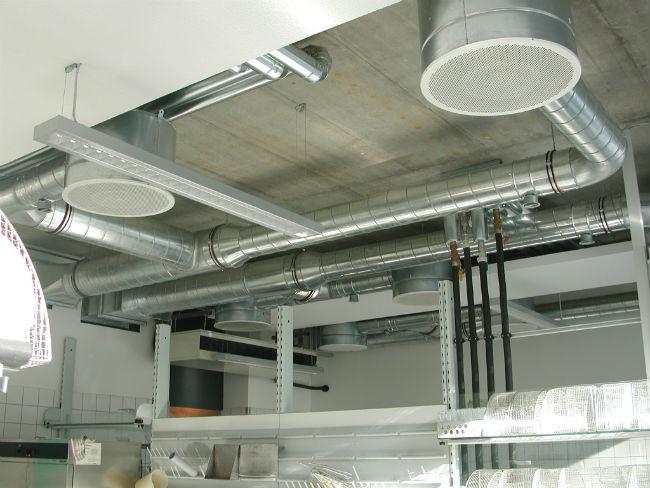 Диффузоры для вентиляции в интерьере