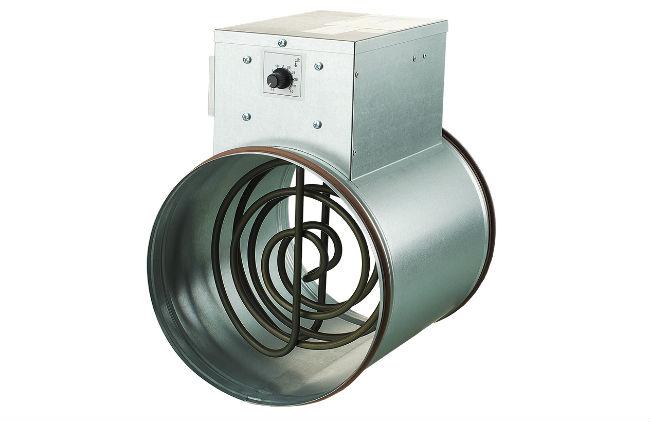 Электрический калорифер для приточной вентиляции