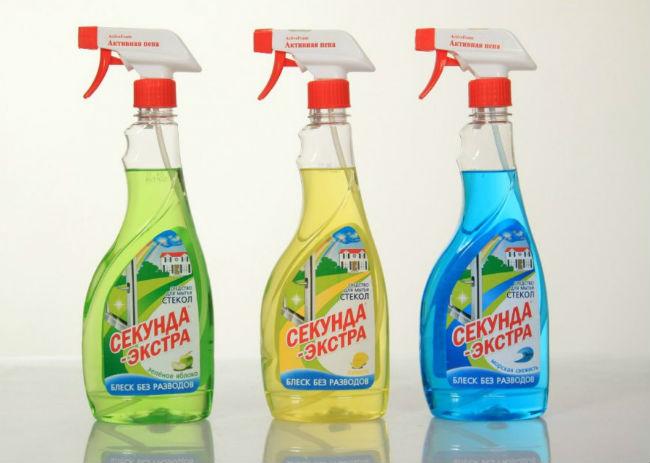 средство для мытья окон «Секунда»