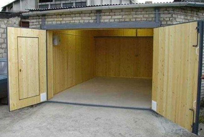Сырой гараж что делать
