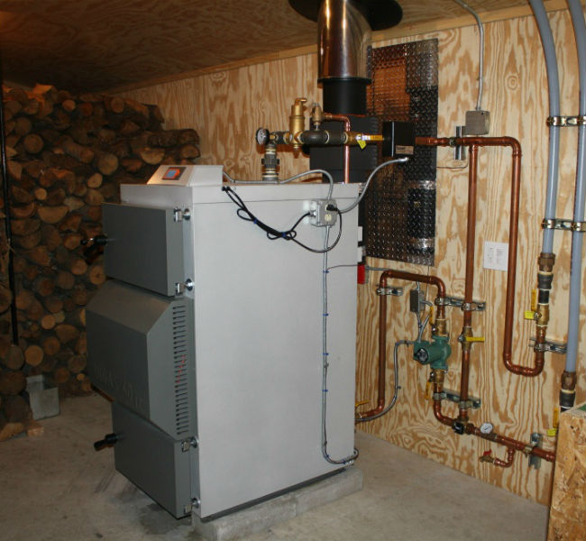 Отопительные комбинированные котлы дрова-электричество