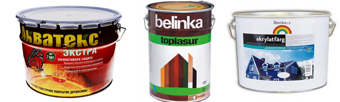 Акватекс, Belinka и Beckers