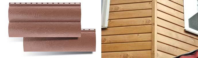 Акриловая фасадные панели для отделки домов