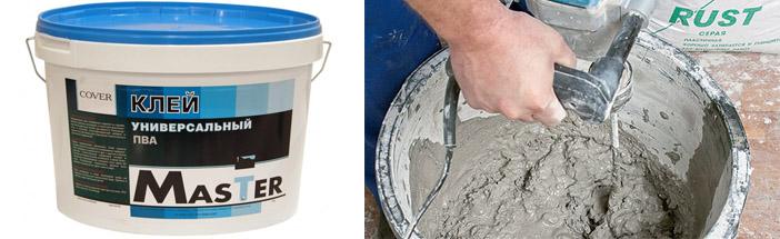 Как приготовить цементную смесь