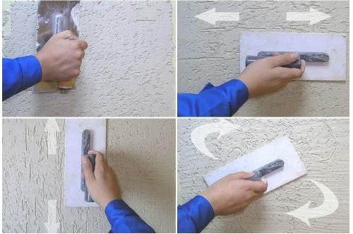 Нанесение силиконовой смеси своими руками
