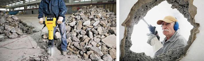 Особенности разрушения бетона
