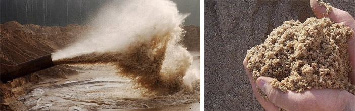 Применение песка в строительстве