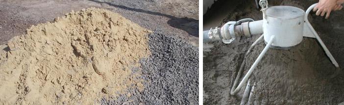 Пропорции компонентов цементных составов