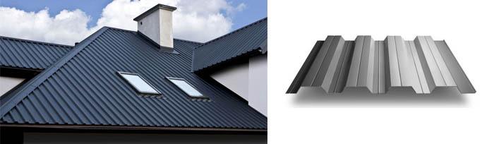 Профилированные листы для крыши