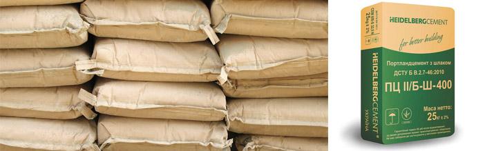 Стоимость цементных составов