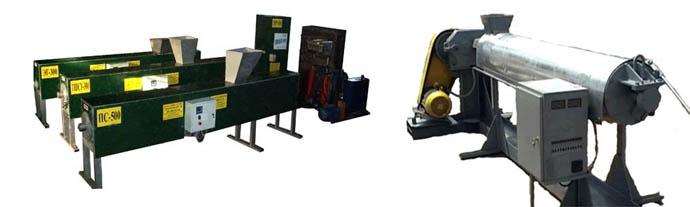 Экструдер и термошнековая машина
