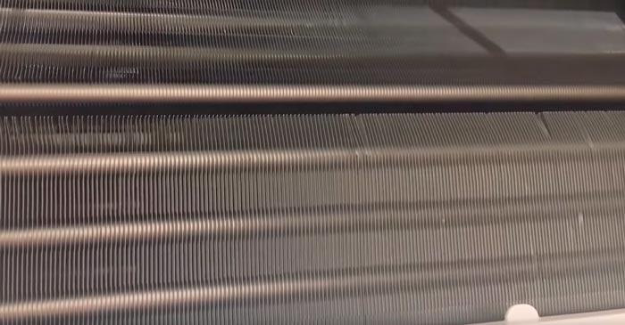 замятые лепестки теплообменника сплит системы