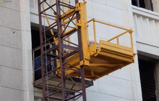 Разновидности строительных подъемников, их особенности